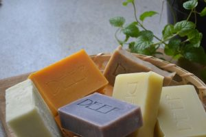 Handmade herbal soaps by Amy